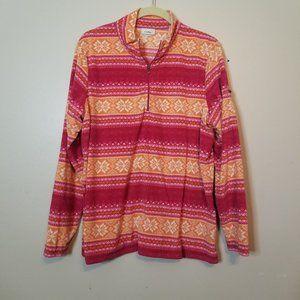 L.L. Bean Lightweight Fleece Long Sleeve Sz XL